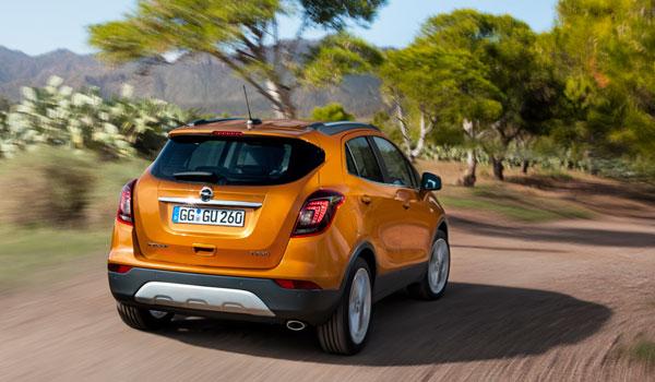 Opel Mokka X Rückansicht