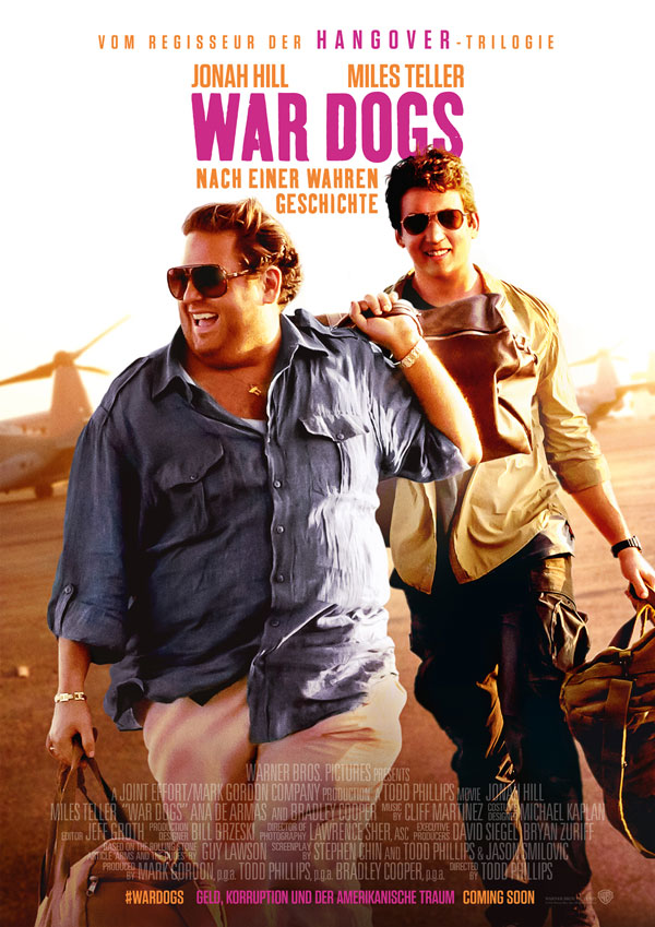 War Dogs Kinoposter
