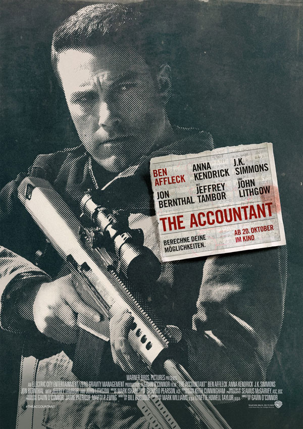 The Accountant Filmposter