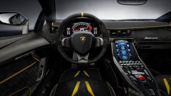 Lamborghini Centenario Cockpit