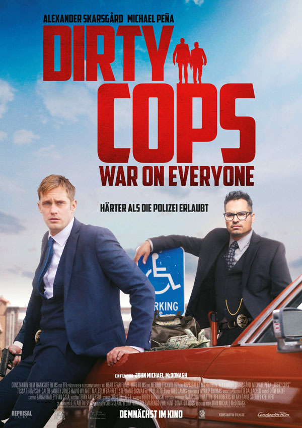 Dirty Cops - War on Everyone Filmposter