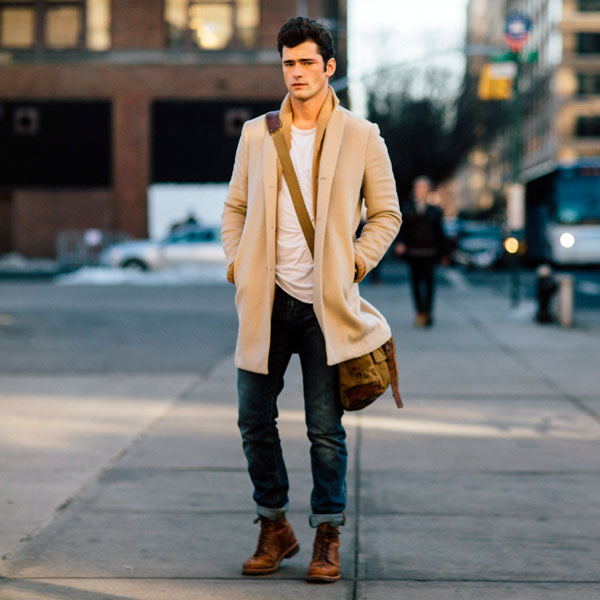 Street Style Herren Winter