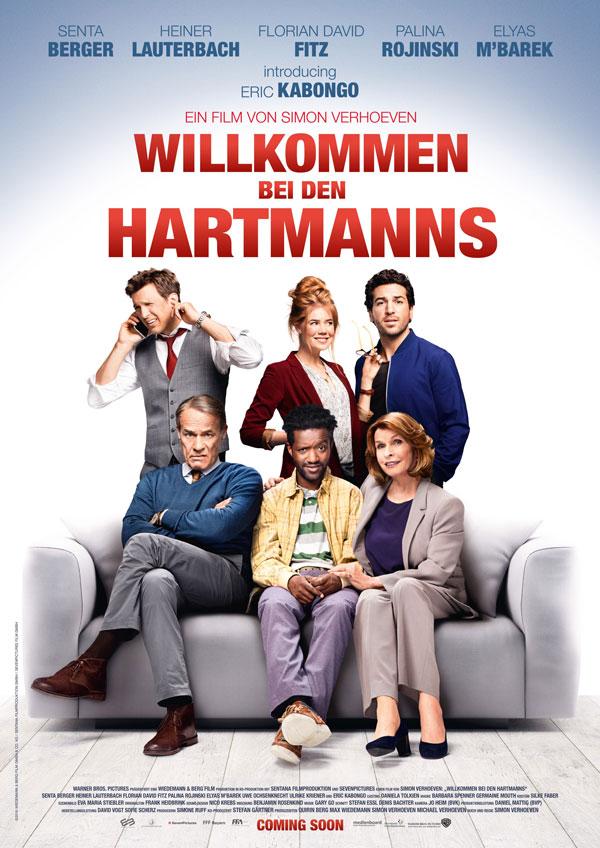 Willkommen bei den Hartmanns Kinoposter