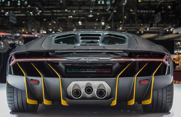 Lamborghini Centenario Heck