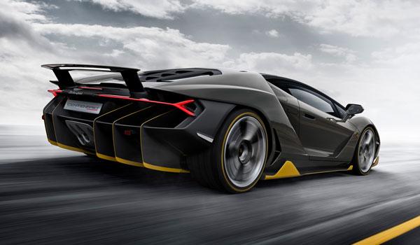 Lamborghini Centenario Seitenansicht
