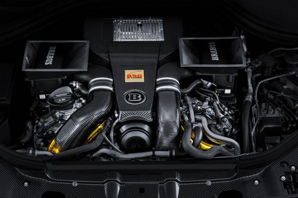 BRABUS 850 XL WIDESTAR Motor