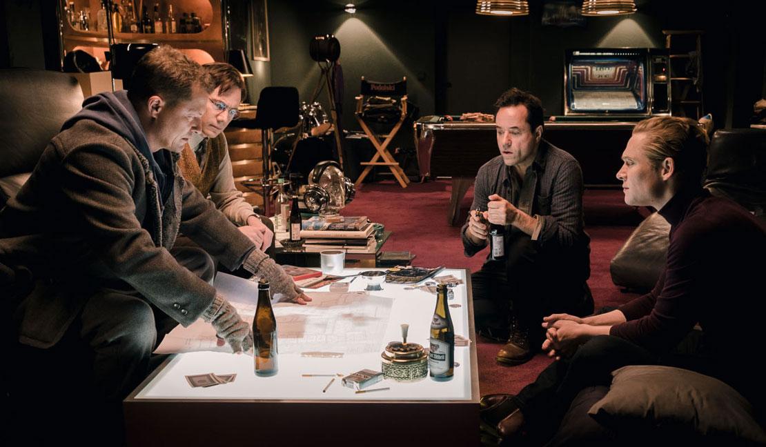 Vier gegen die Bank - Filmkritik & Trailer