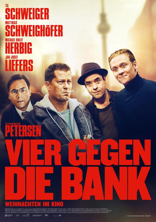 Vier gegen die Bank  Kinoposter