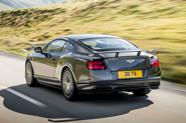 Bentley Continental Supersports Heck