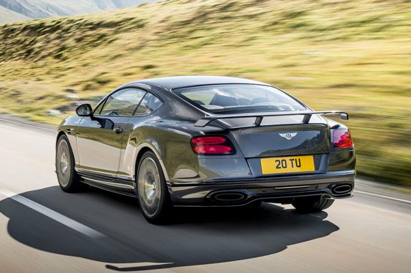 Bentley Continental Supersports Heck
