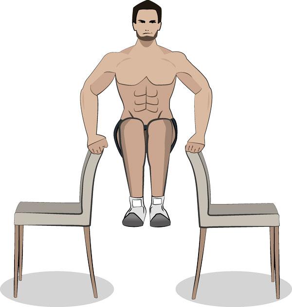 Stützendes Beinheben frei
