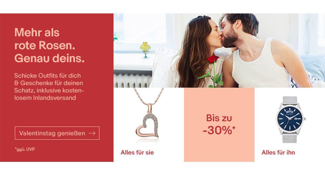 Genau dein Valentinstag mit eBay