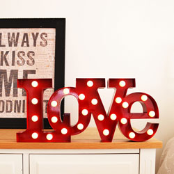 LOVE LED Leuchte