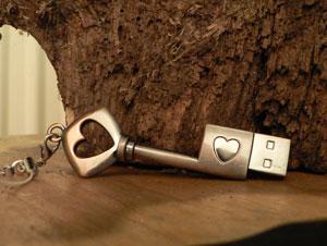Schlüssel-USB-Stick