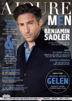 AJOURE Men Cover Monat März 2017 mit Benjamin Sadler