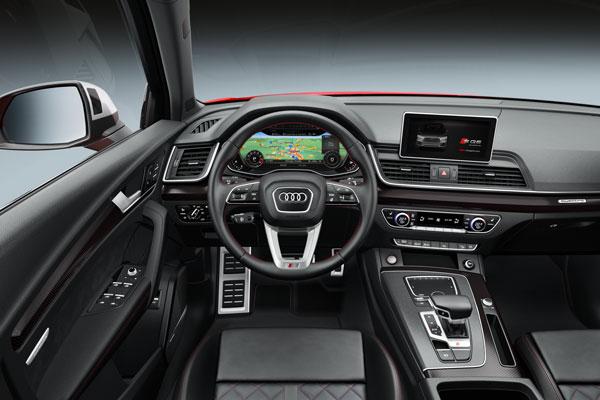 Audi SQ5 Cockpit