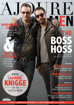 AJOURE Men Cover Monat April 2017 mit The BossHoss