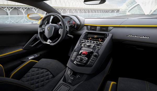 Lamborghini Aventador S Cockpit
