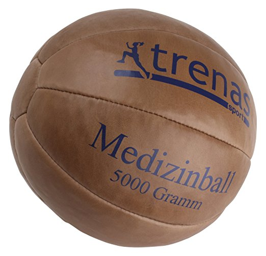 Medizinball aus Leder