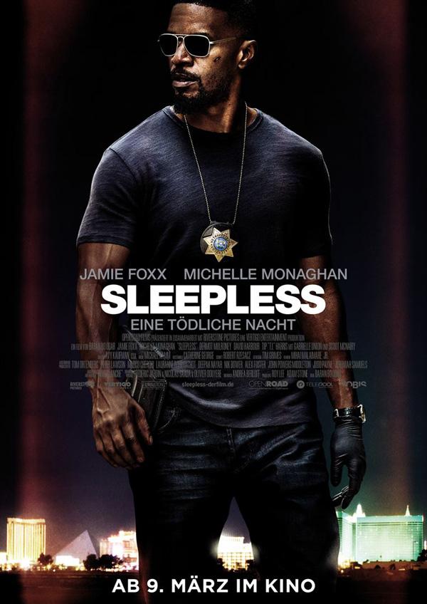 Sleepless – Eine tödliche Nacht Kinoposter