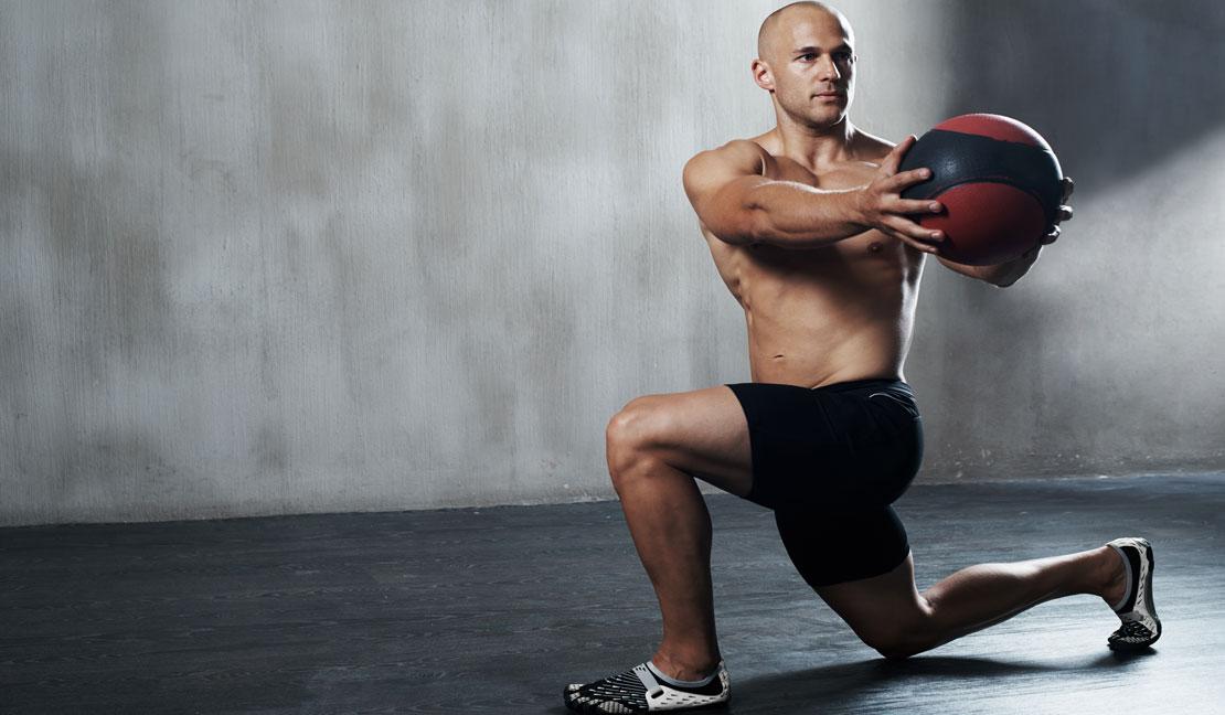 Medizinball Training
