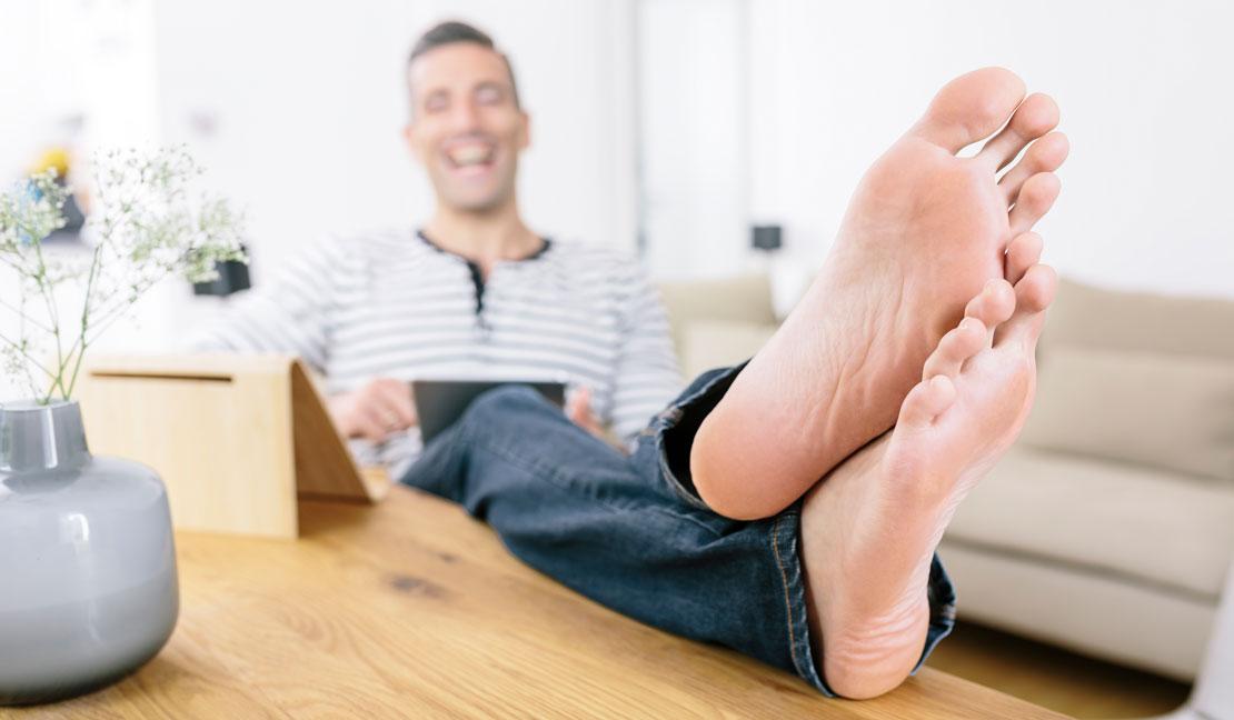 Die richtige Fußpflege für den Mann - AJOURE-MEN.de