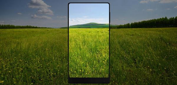 randloses Display für Android