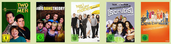 Top 5 TV-Serien Comedy