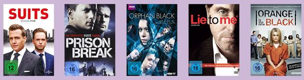 Top 5 TV-Serien sehenswert