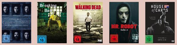 Top 5 TV-Serien Spannung