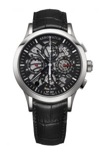 BASELWORLD 2017 Aerowatch NUMBERED Semi-Skeleton