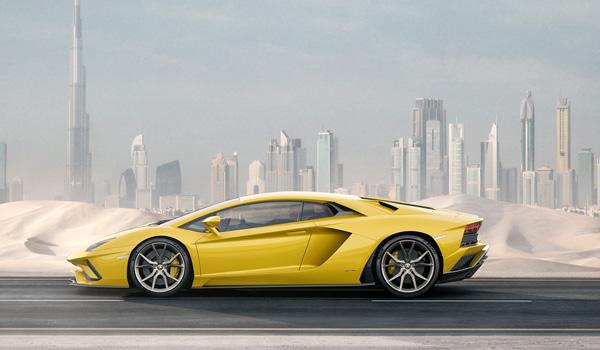 Lamborghini Aventador S Seitenansicht