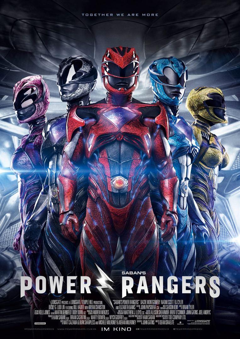 Power Rangers Filmplakat