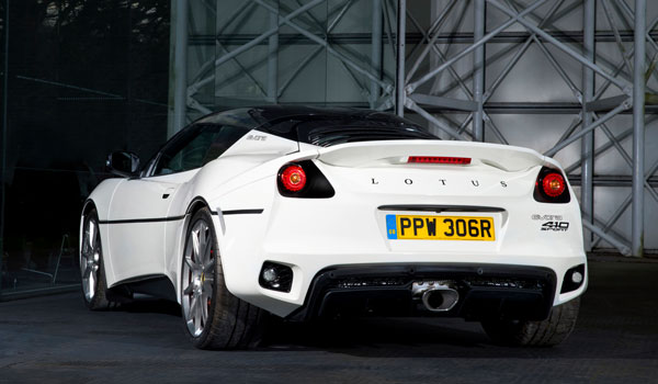 Lotus Evora Sport 410 Heck