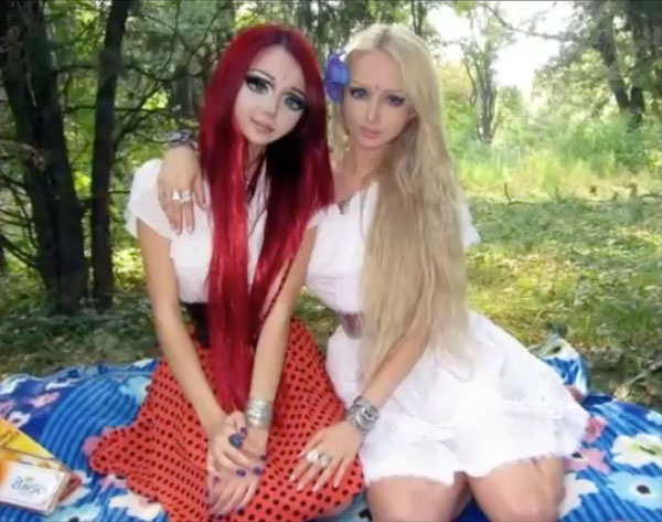 Anastasiya Shpagina & Valeria-Lukyanova