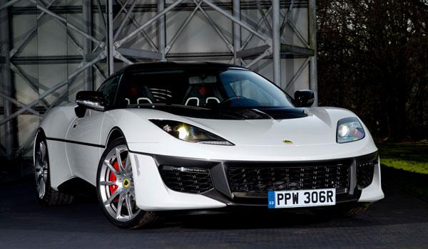 Lotus Evora Sport 410 Front