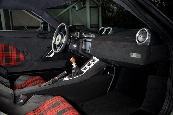 Lotus Evora Sport 410 Innenraum