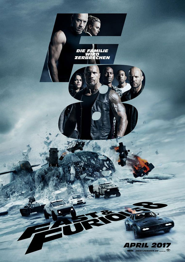 Fast & Furious 8 - Filmposter