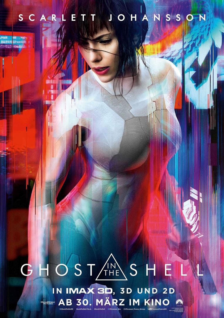 Ghost in the Shell - Filmplakat