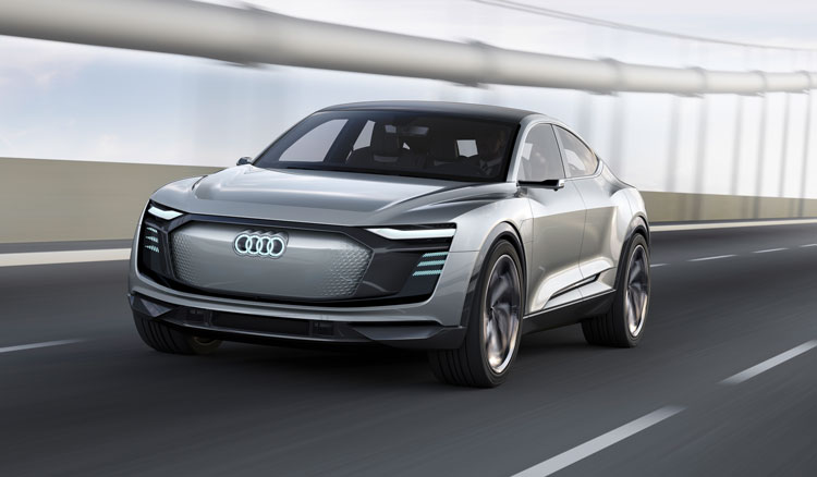 Audi e-tron Sportback Front