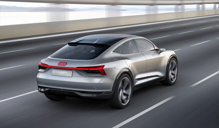 Audi e-tron Sportback Heck