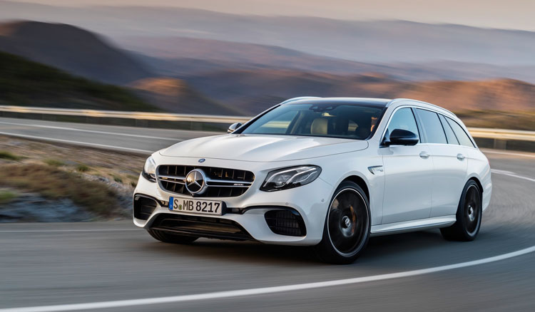 Mercedes AMG E63 & E63 S 4MATIC+ T-Modell Front