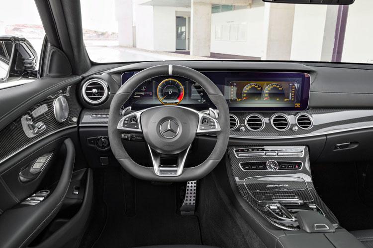 Mercedes AMG E63 & E63 S 4MATIC+ T-Modell Innenraum
