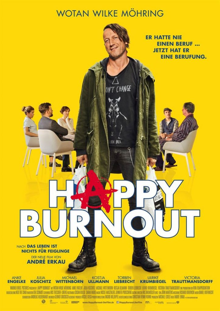 Happy Burnout Kinoposter