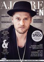 AJOURE Men Cover Monat Juli 2017 mit Johannes Oerding
