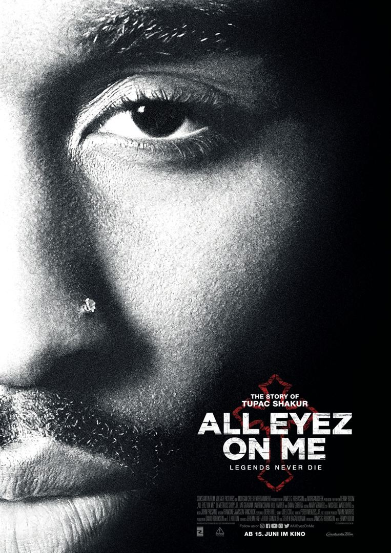 All Eyez on Me Kinoposter