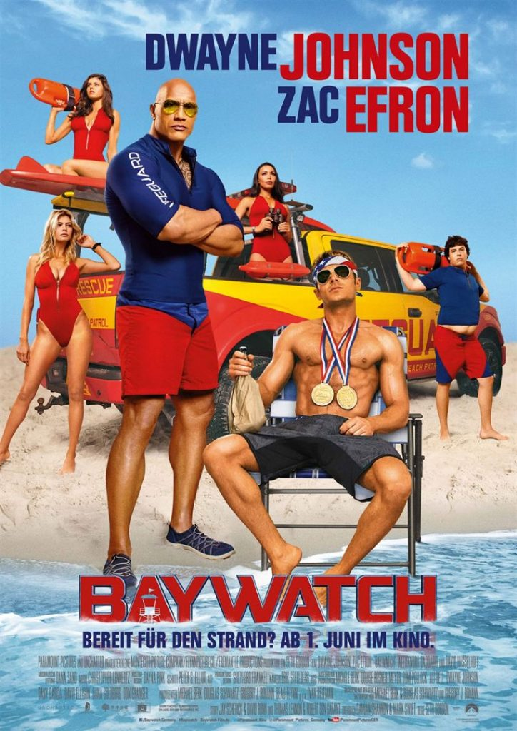 Baywatch Kinoposter