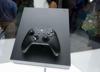 die neue XBOX ONE X auf der E3