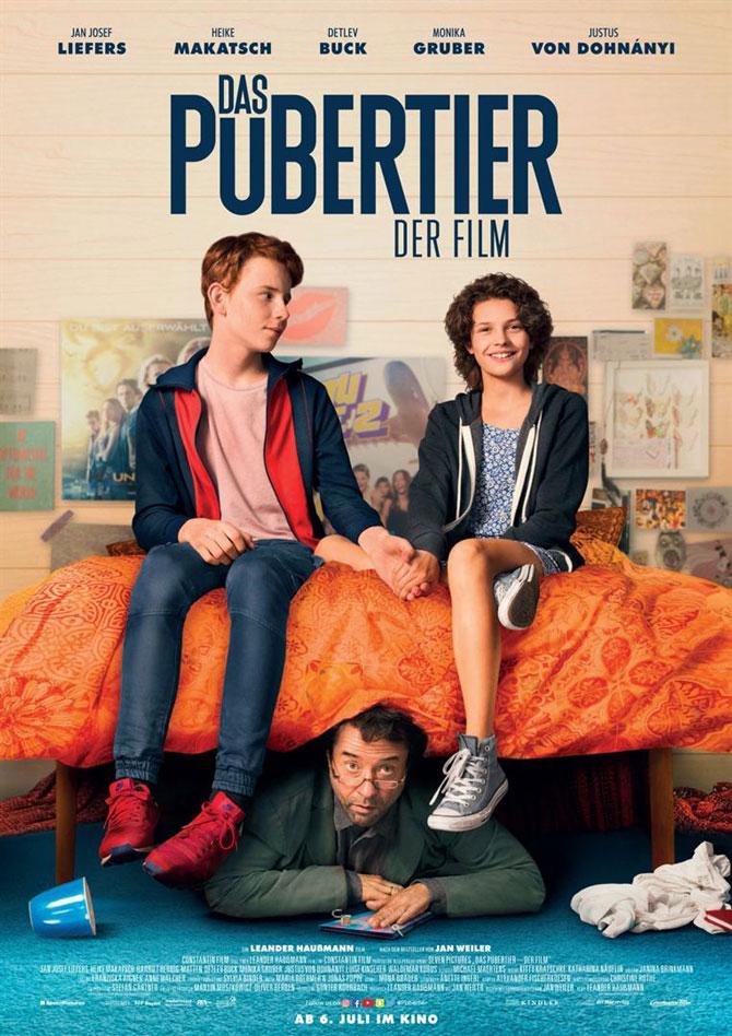 Das Pubertier Kinoplakat