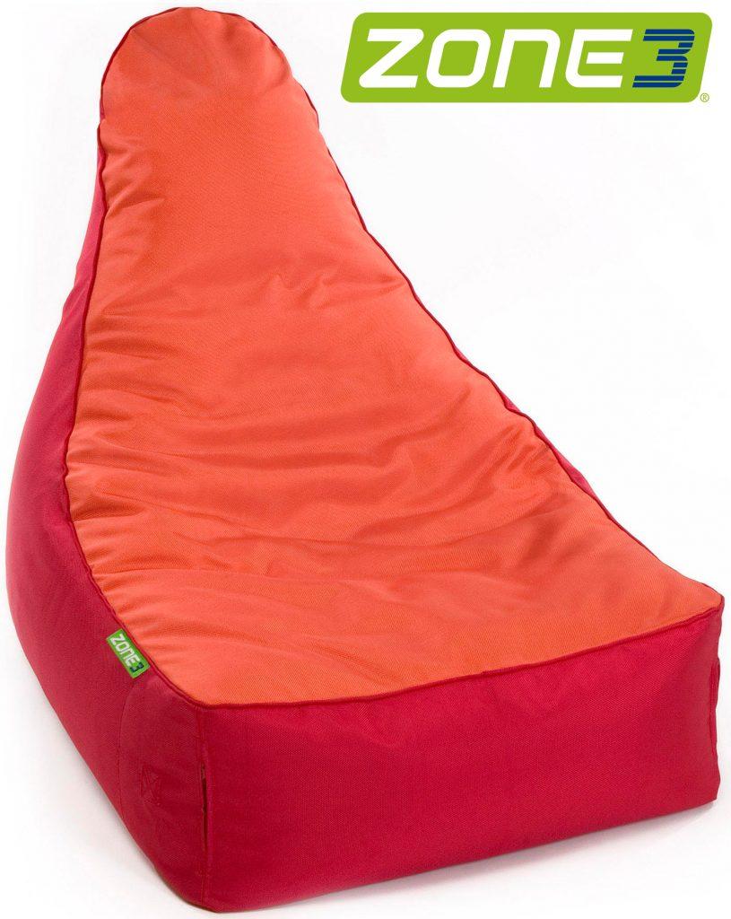 ZONE 3 Sitzsack Modul 1 Rot-Orange